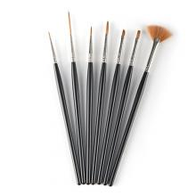 S8090 7-pc nail painted brush set
