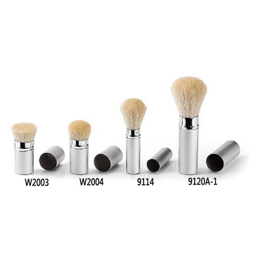 Retractable brush - silver series