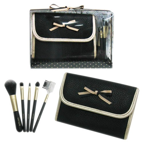 7620BS/PS 5-pc make up brush w/ bag set