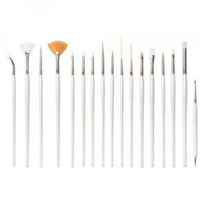 PF0186 22-pc nail art brush